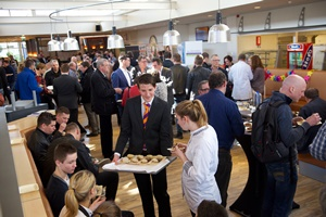 Sfeerimpressie Zilt-E zeelunch Hans Everse op de Food Professional Day 2015